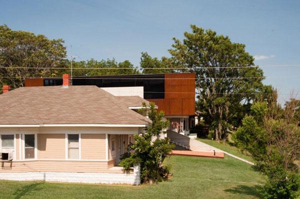 Decoraciones y modernidades fachada de casa moderna americana for Casa moderna americana