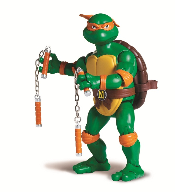 2012 tmnt action figure pictures now online - Michaelangelo tortue ninja ...