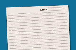 Free Handwriting Printables | Hand Writing