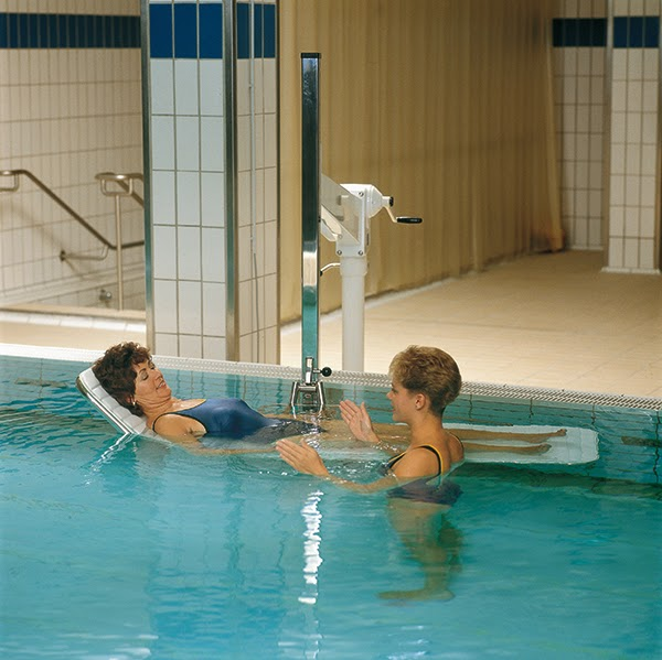 Stretcher for Hydrotherapy Pool Lift