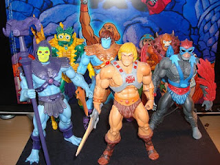 toy figures from masters of the universe
