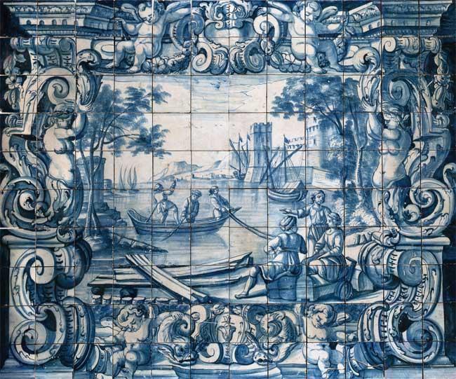 Bem arranjado trajet ria dos azulejos portugueses for Azulejos de portugal