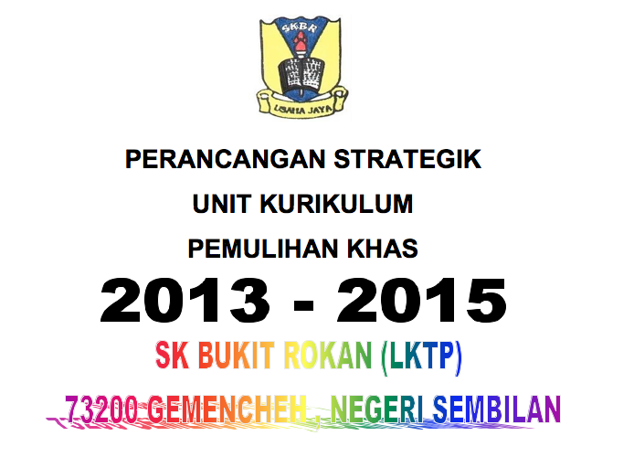 Download Perancangan Strategik Pemulihan Khas 2013-2015