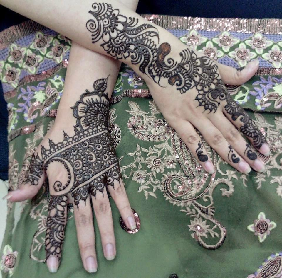 Unique Bridal Mehndi Designs 2015 Collection