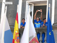 UD Las Palmas ayuntamiento Santa Ana
