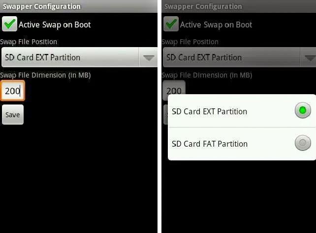 cara konfigurasi aplikasi swapper for root