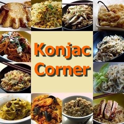 Des recette avec konkac
