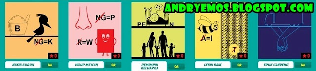 Kunci Jawaban Game Tebak Gambar Android Level 2