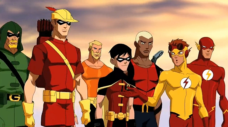 comic book kingdom  green arrow and speedy foreshadow young justice in justice league unlimited