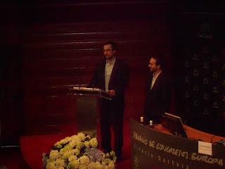 Enigmedia - Premios Emprendedor XXI de Euskadi celebrados en el Palacio de Congresos Europa de Vitoria-Gasteiz