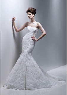 Wedding Dress Lace Strapless Softly Curved,photos wedding