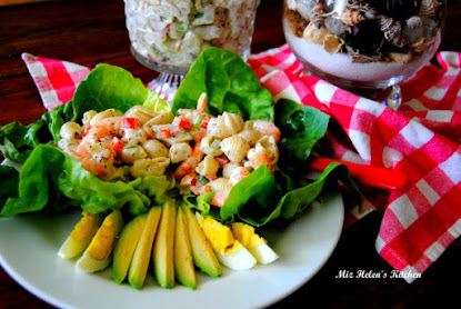 Creamy Italian Shrimp and Pasta Salad