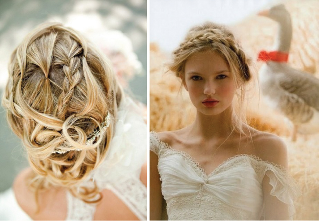 Wedding Hair with Braid