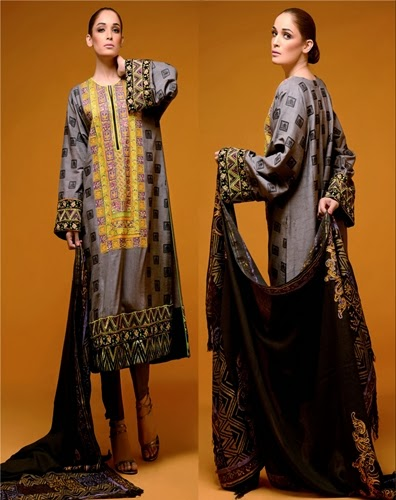 Hadiqa Kiani Winter Dresses