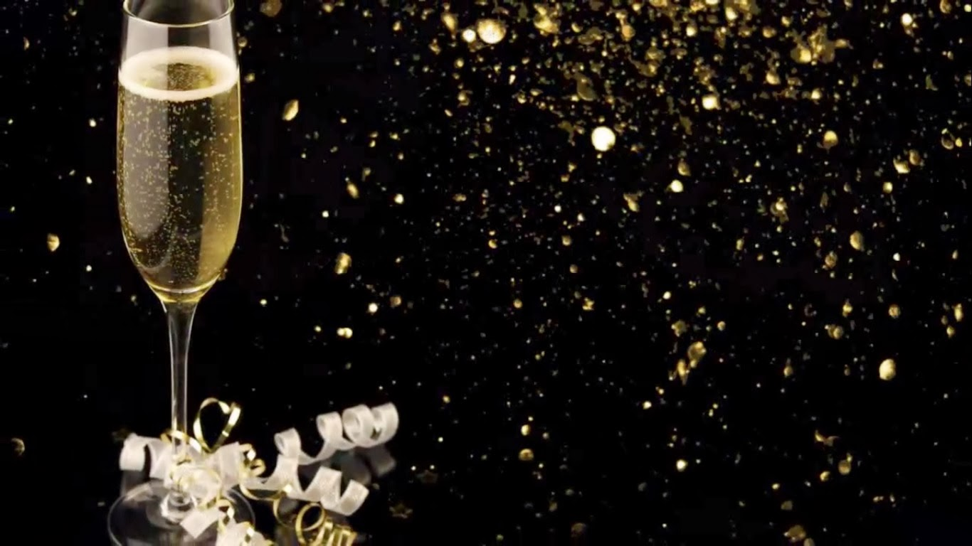 Champagne Glasses Wallpaper Hd