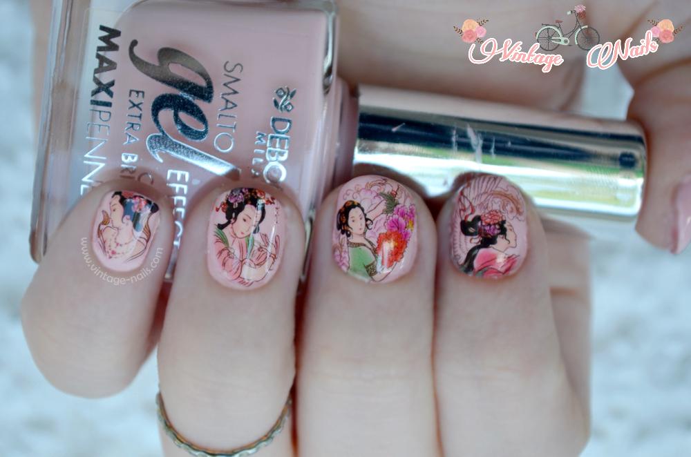 nail art, manicura, manicure, Deborah Milano, Born Pretty Store, water decals