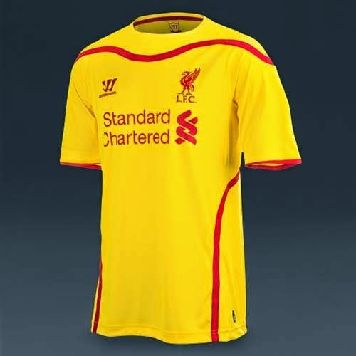 Liverpool Kit History 14: Warrior Released 14/15 Liverpool Home And Away Kit