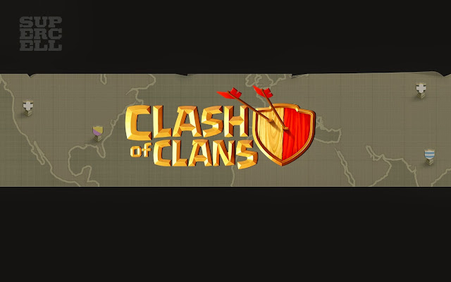109090-Clash of Clans Logo HD Wallpaperz