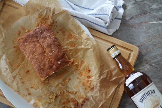 lavender star - rezept whiskey kuchen mit nuskatmuss - #svetlanakocht