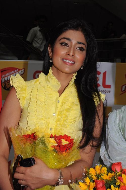 Shriya Saran New Stills  CCL Promotional Events Photo Gallery  stills