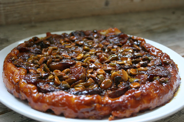 Nothing in the House: Fig-Pistachio Tarte Tatin