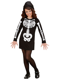 Skelet pige