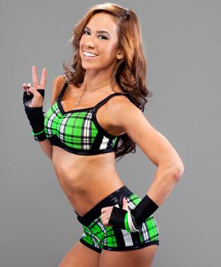 WWE Diva AJ Lee As