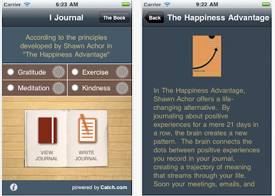 i-journal app for iPhone