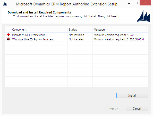 crm 2015 report extension and visual studio 2012 crm answers