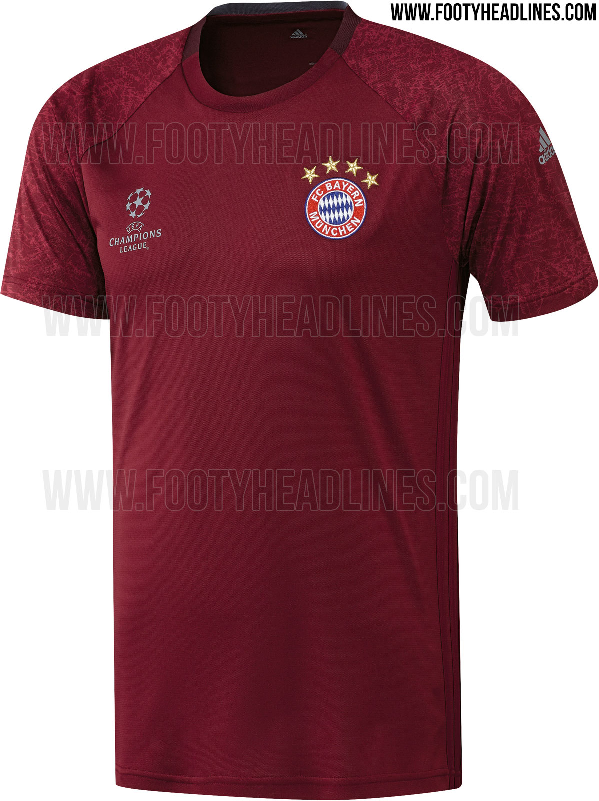 bayern m nchen 16 17 champions league trainings trikot. Black Bedroom Furniture Sets. Home Design Ideas