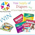 Win Free Diapers and Baby Gym 9/20 US-CAN