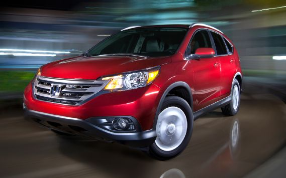 2012 Honda CR-V EX-L AWD front drivers side