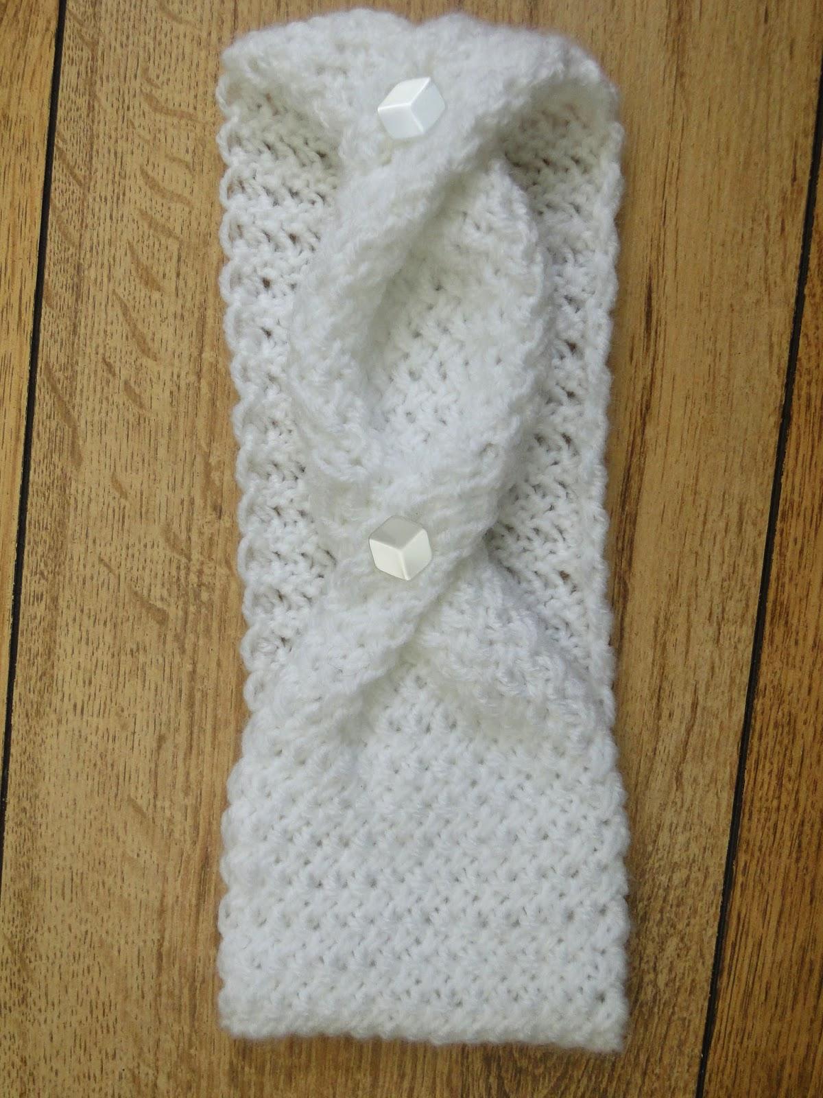 Stylish headband Knitting Pattern