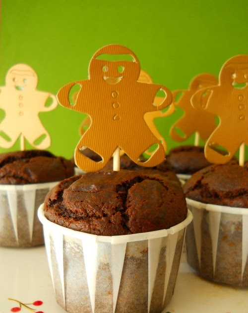 Sweet Tidings: Recipe: Gingerbread Muffins