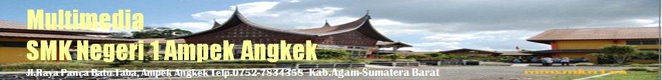 Multimedia SMK Negeri 1 Ampek Angkek