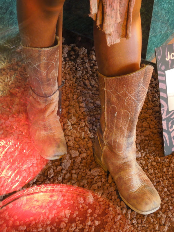 John Carter costume boots