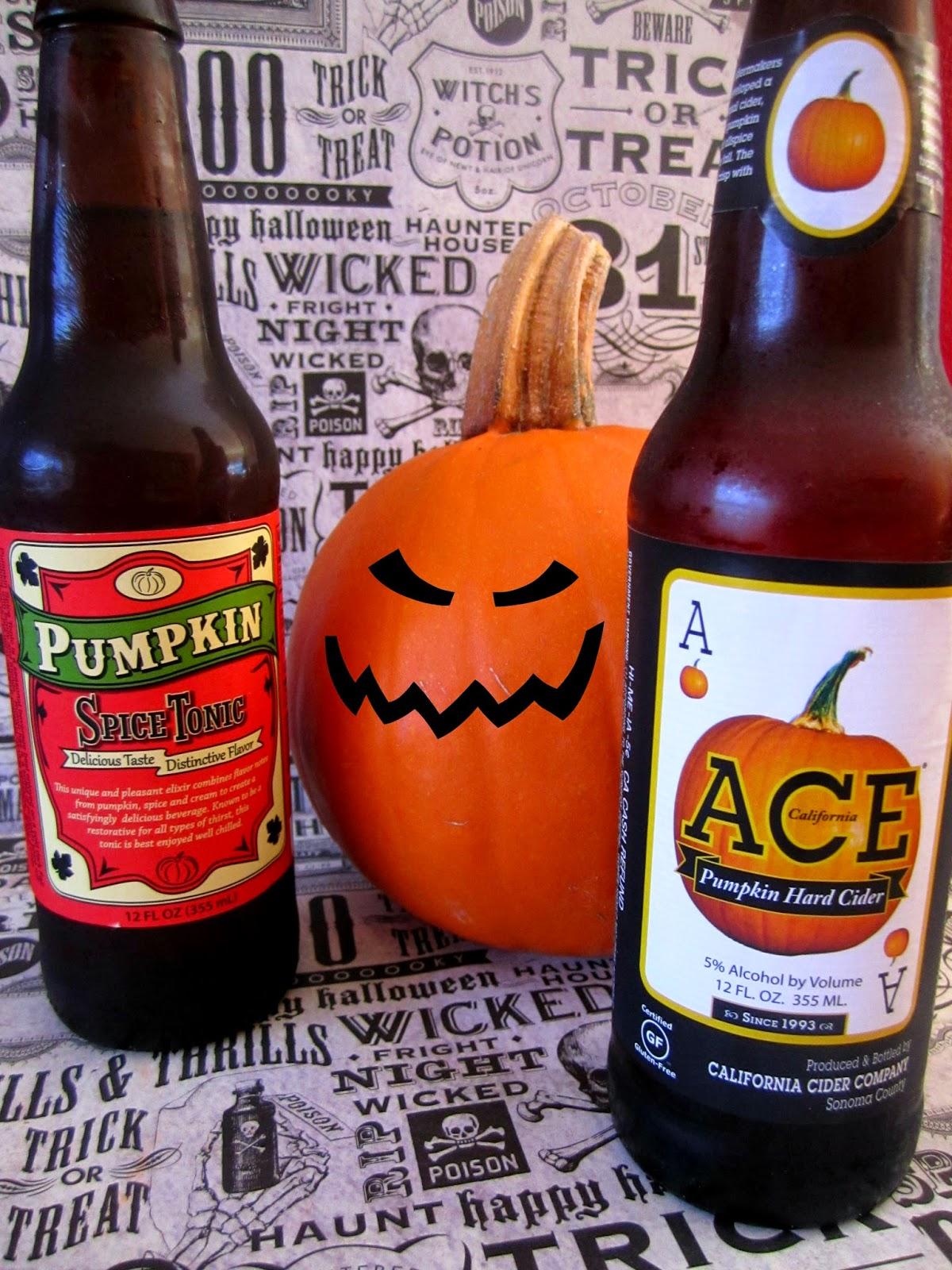 Pumpkin Hard Cider, Pumpkin Soda