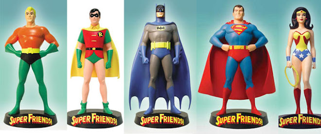 DC SUPERFRIENDS MAQUETTE COMPLETE SET FOR SALE. PLEASE SMS ME AT 9616 9144 FOR ANY ENQUIRIES.