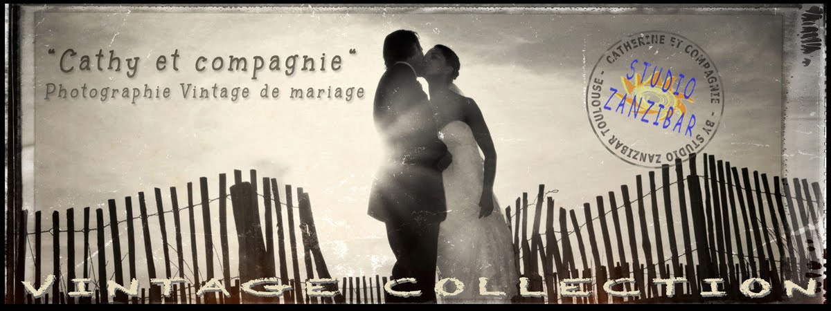 Cathy et compagnie, photographe mariage vintage Toulouse