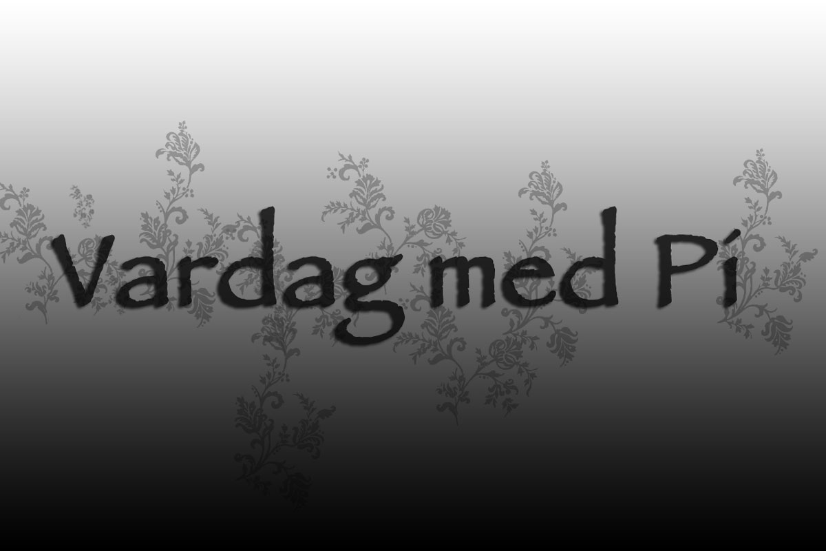 Vardag med Pi