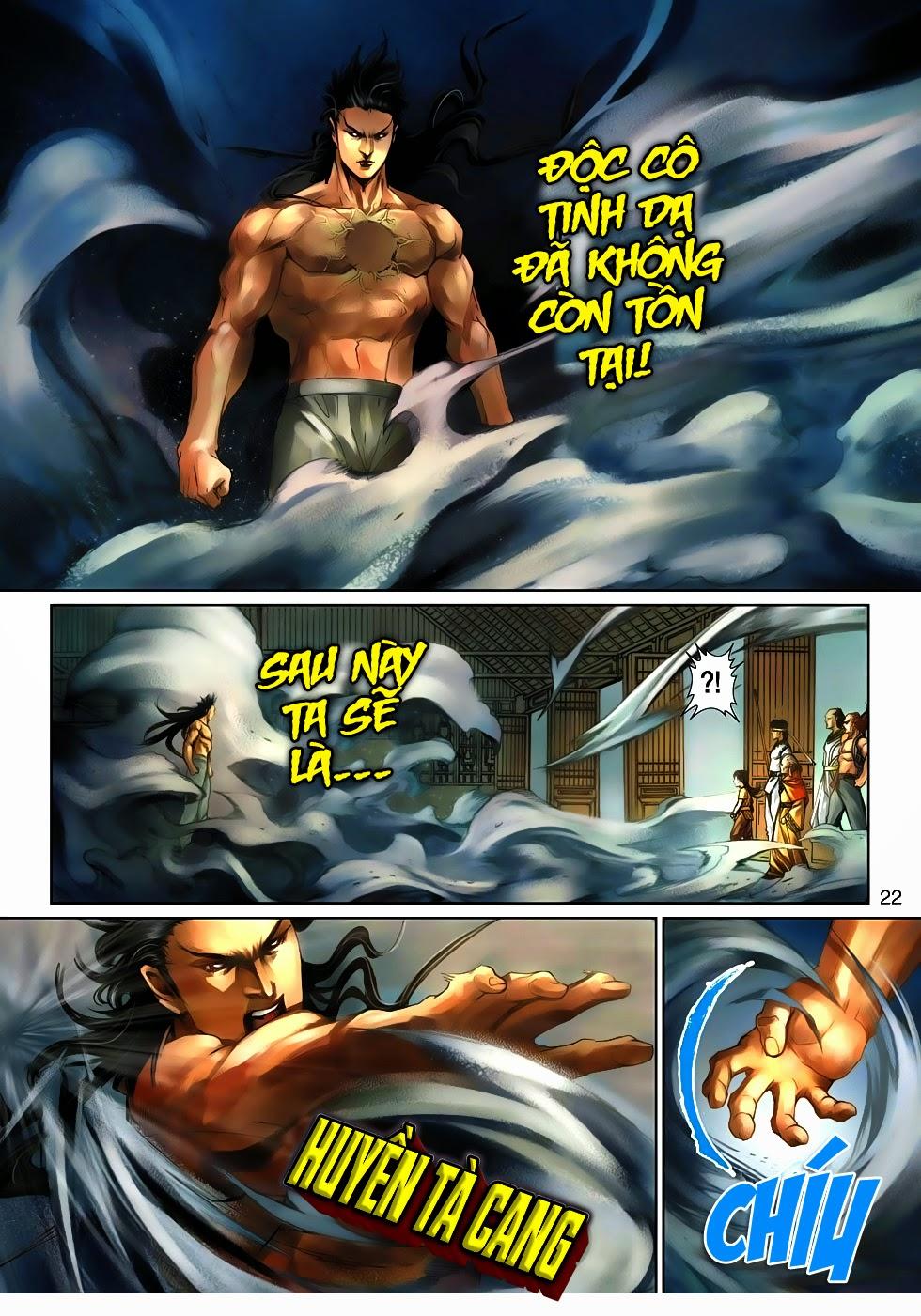 Thần Binh Tiền Truyện 4 - Huyền Thiên Tà Đế chap 10 - Trang 22