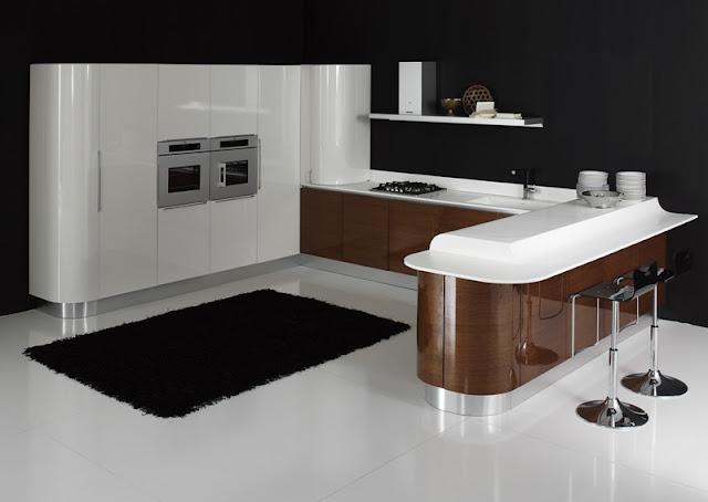 cuisine italienne design. Black Bedroom Furniture Sets. Home Design Ideas