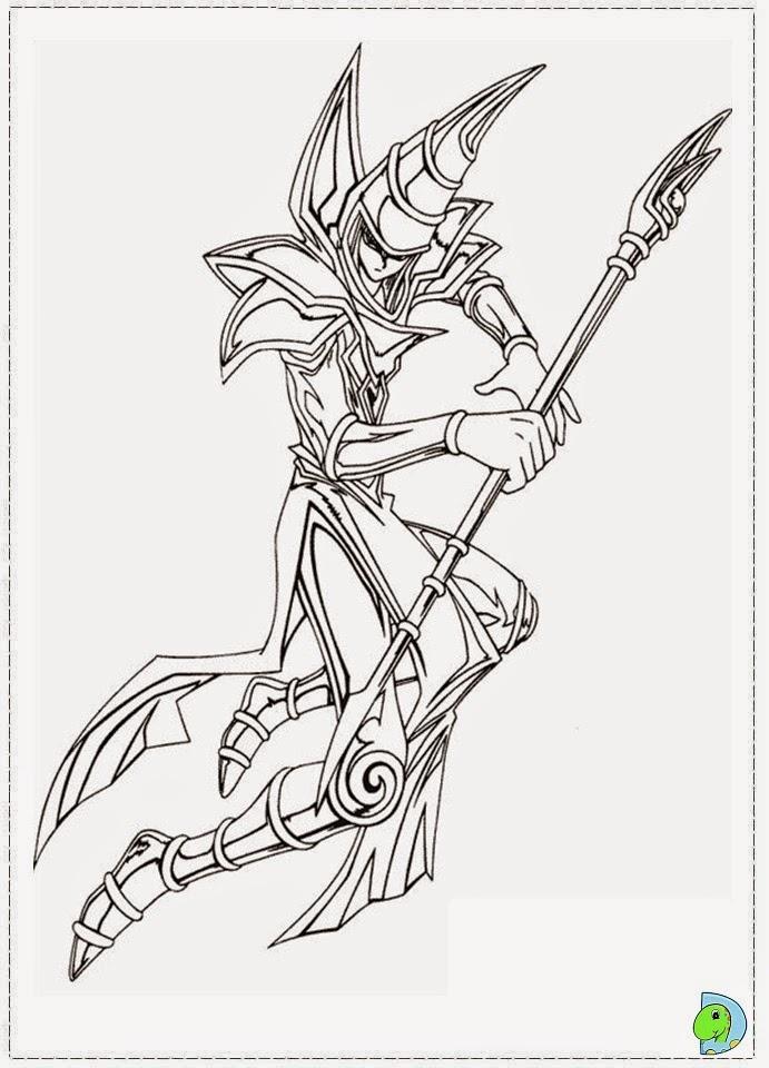 Dinokids Desenhos para colorir Desenhos de Yu Gi Oh