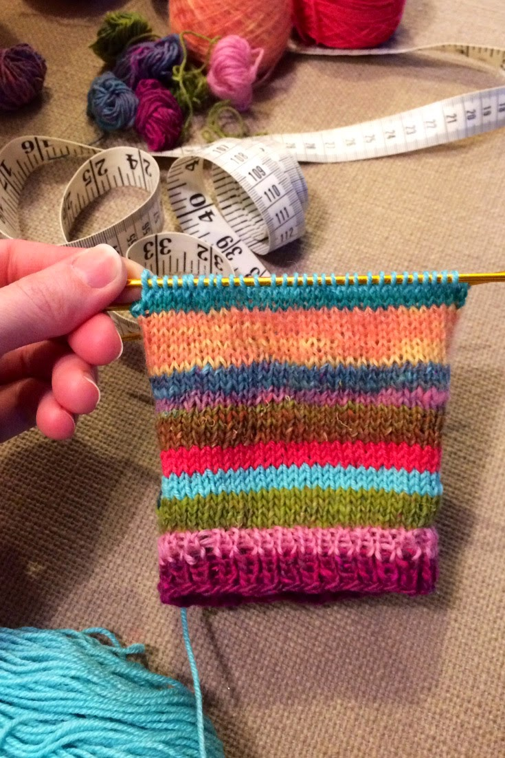 Вязание носков пряжа 54