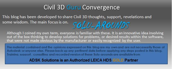 Civil 3D GURU CONVERGENCE