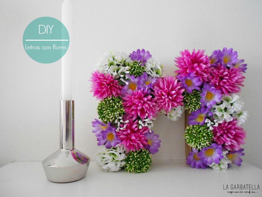 Wedeco decora con flores letras de primavera la - Pasos a seguir para construir una casa ...