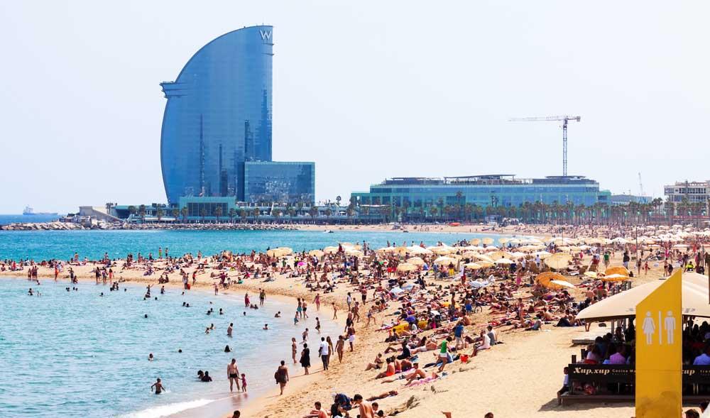 Resultado de imagen para playa barcelona