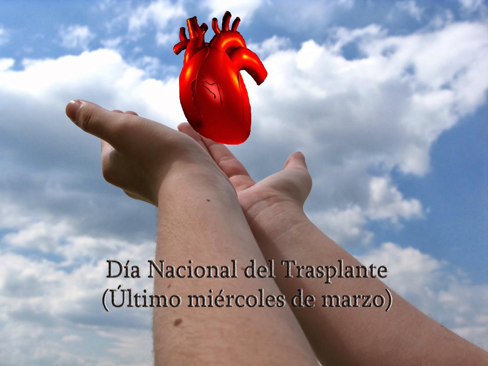 El último miércoles de marzo se celebra el día nacional del trasplante