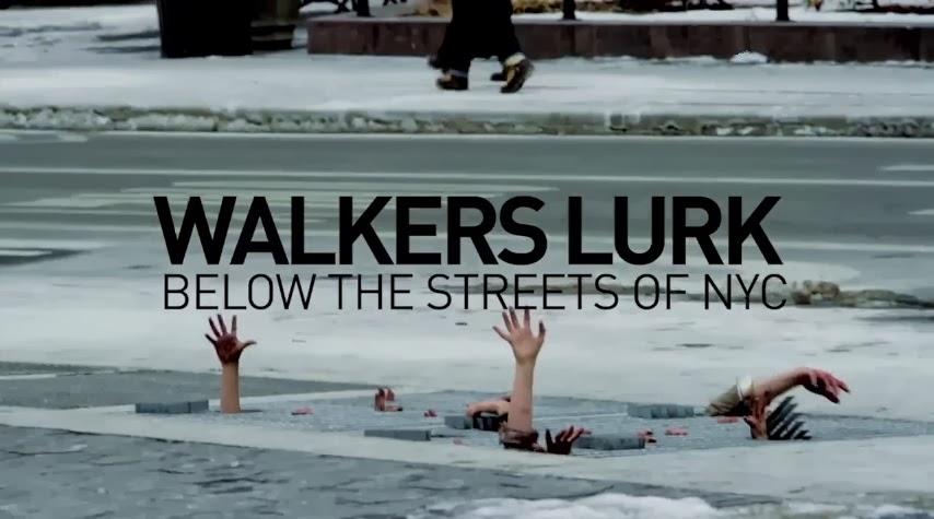The Walking Dead - NYC prank