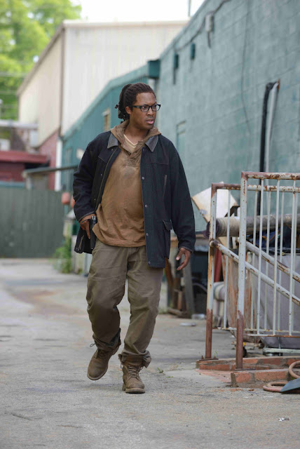 Corey Hawkins como Heath – The Walking Dead _ sexta temporada, First Look – Photo Credit: Gene Page/AMC